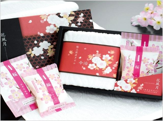 今治タオル&桜の香りセット